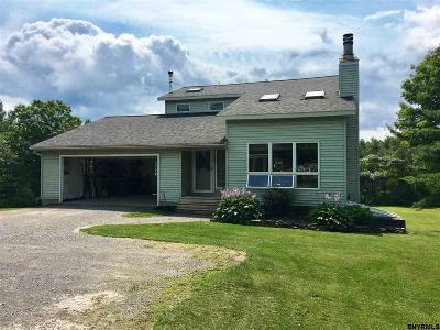 Rensselaer Single Family Home For Sale: 585 Travis Hill Rd