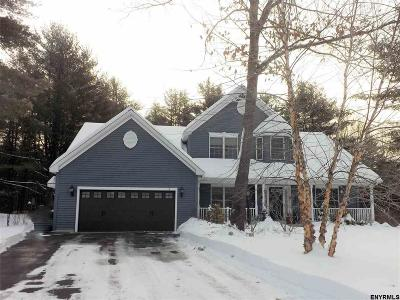 Saratoga Springs NY Single Family Home For Sale: $589,000