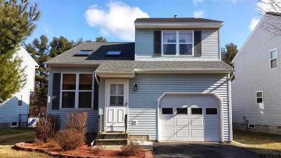 Colonie Single Family Home For Sale: 8 Wicken Sq