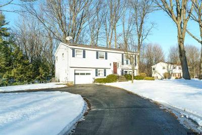Clifton Park Single Family Home For Sale: 1 Cortland Blvd