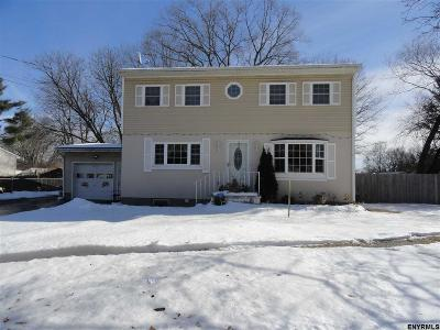 Schenectady Single Family Home For Sale: 456 Clayton Rd
