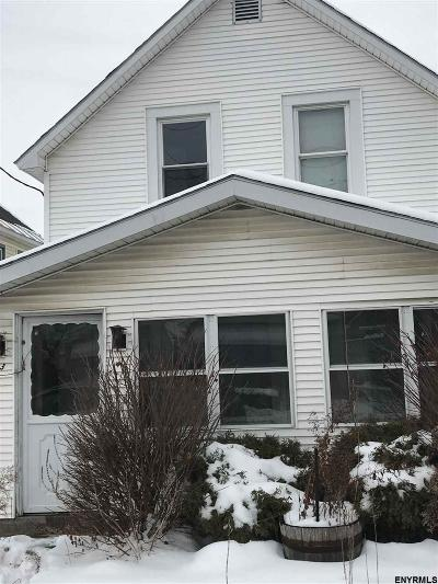 Schenectady Single Family Home For Sale: 123 Division St