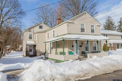 Saratoga Springs NY Multi Family Home For Sale: $275,000