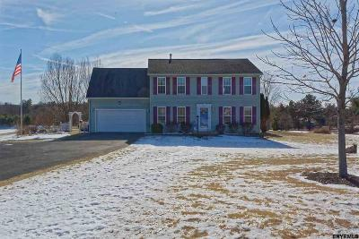 Rensselaer County Single Family Home For Sale: 10 Waterbury Rd