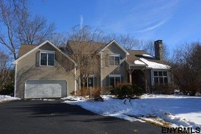 Voorheesville Single Family Home For Sale: 33 Claremont Dr