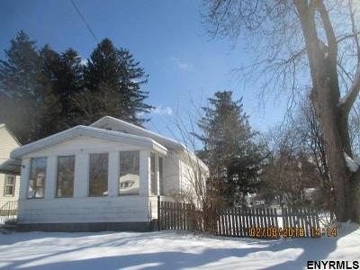 Schenectady Single Family Home For Sale: 361 Bradford Rd