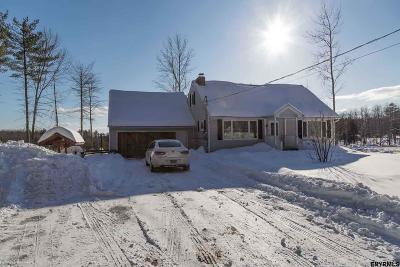 Saratoga County Single Family Home For Sale: 1288 Whitesides Rd