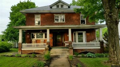 Saratoga County Single Family Home For Sale: 162 South Main St