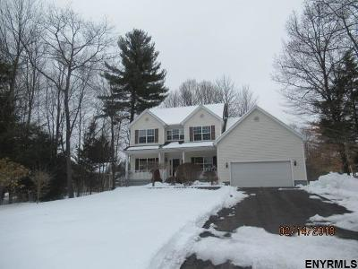 Saratoga County Single Family Home For Sale: 33 Moonglow Rd