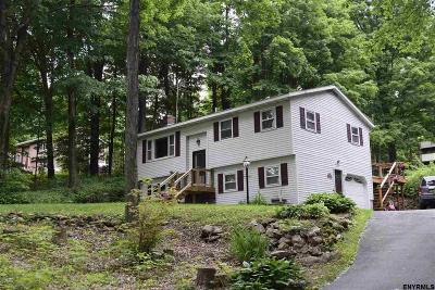 Saratoga County Single Family Home For Sale: 1697 Hermance Rd