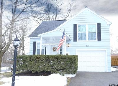Schenectady County Single Family Home For Sale: 227 Eastholm Rd