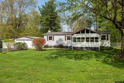 Saratoga County Single Family Home New: 57 Davidson Dr