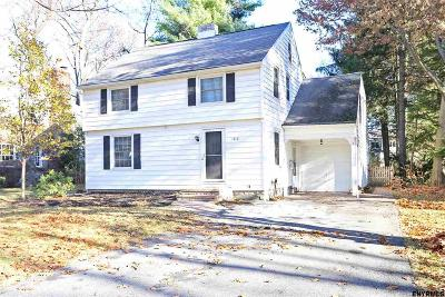 Niskayuna Single Family Home New: 1410 Valencia Rd