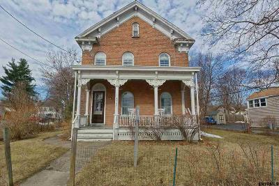 Saratoga County Single Family Home New: 787 Hudson Av