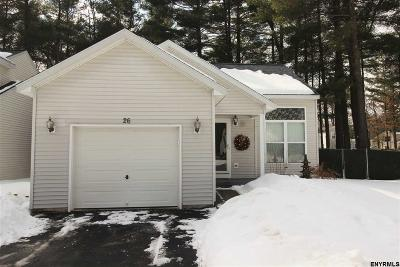 Saratoga County Single Family Home New: 26 Skylark Dr