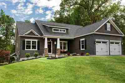 Saratoga Single Family Home For Sale: Lot 26 Schuyler Hills Dr