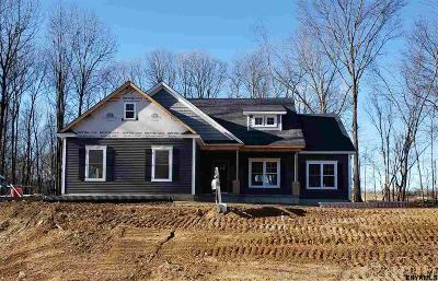Saratoga County Single Family Home New: Lot 24 Schuyler Hills Dr