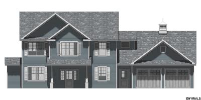 Saratoga County Single Family Home New: Lot 22 Schuyler Hills Dr