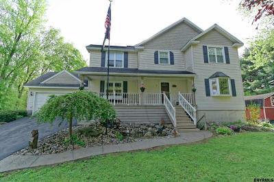 Schenectady Single Family Home For Sale: 2172 Helderberg Av