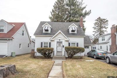 Albany County Single Family Home New: 22 Berncliffe Av