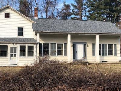 Saratoga County Single Family Home New: 200 Moe Rd