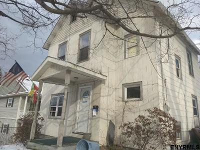 Rensselaer County Single Family Home New: 52 Vandenburgh Av