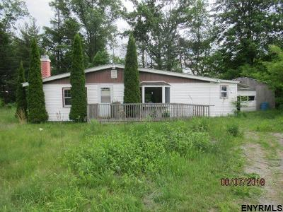 Saratoga County Single Family Home For Sale: 639 Geyser Rd
