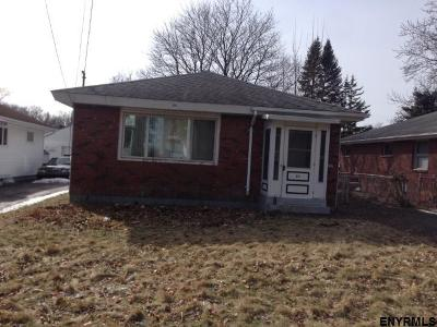 Albany NY Single Family Home New: $109,900