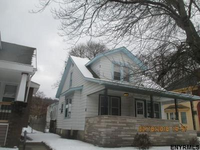 Troy Single Family Home For Sale: 234 6th Av