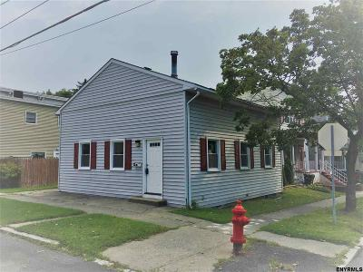 Cohoes Single Family Home For Sale: 35 McElwain Av