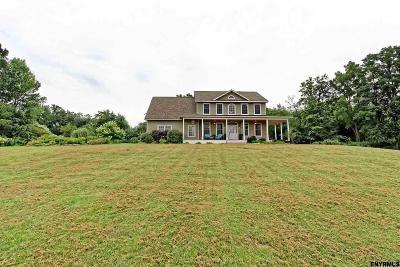 Saratoga County Single Family Home For Sale: 504 Randall Rd