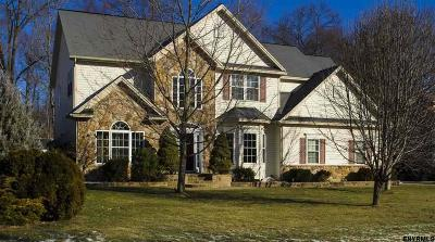 Clifton Park Single Family Home For Sale: 11 Wishing Well La