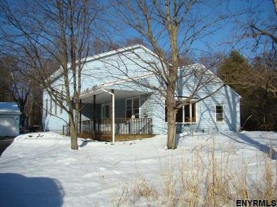 Saratoga County Single Family Home For Sale: 74 Rt 423