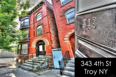 Troy Multi Family Home For Sale: 343 4th St
