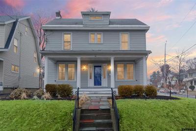 Albany Single Family Home Price Change: 28 Homestead Av