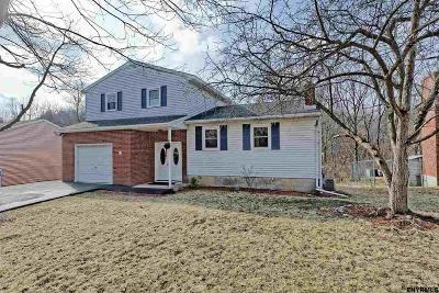 Albany Single Family Home Price Change: 21 Mohican Pl