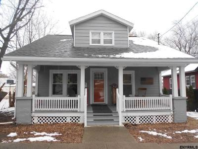 Cohoes Single Family Home For Sale: 192 Lancaster St