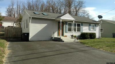 Colonie Single Family Home For Sale: 64 Cordell Rd