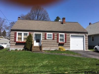East Greenbush Single Family Home Price Change: 227 Hampton Av