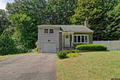 Saratoga Springs NY Single Family Home For Sale: $299,000