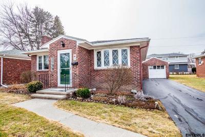 Albany NY Single Family Home For Sale: $174,900