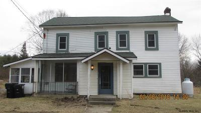 Duanesburg Single Family Home For Sale: 10997 Mariaville Rd