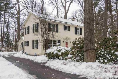 Niskayuna Single Family Home For Sale: 1704 Lexington Pkwy