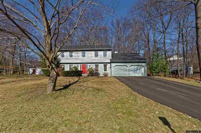 Clifton Park Single Family Home For Sale: 21 Berkshire Dr West