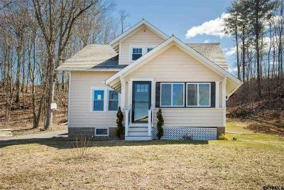 Saratoga County Single Family Home For Sale: 586 Route 9 P