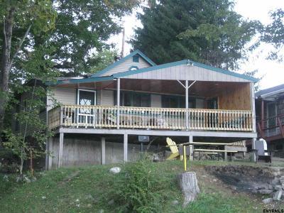 Saratoga County Single Family Home For Sale: 9 Lakeside Av
