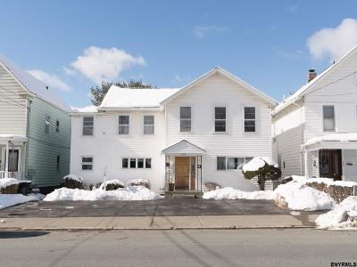 Troy Two Family Home For Sale: 610 Pawling Av