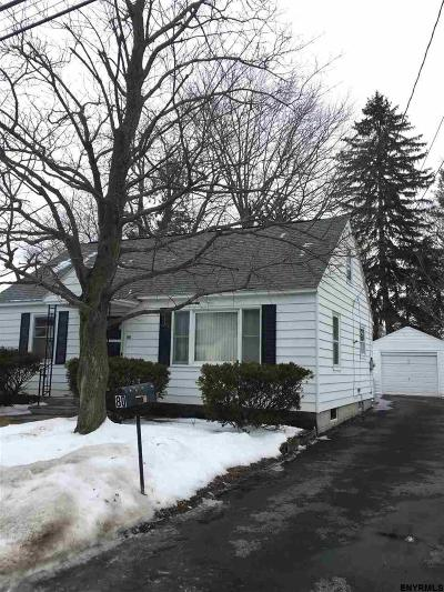 Colonie Single Family Home For Sale: 80 Ahl Av