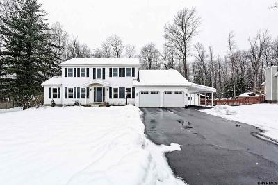 Guilderland Single Family Home New: 109 Drahos Dr