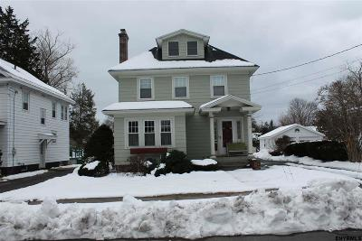 Schenectady NY Single Family Home Pend (Under Cntr): $144,740